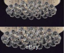15.7 Crystal Ceiling Lamp Lighting Bedroom Rain Drop Light Fixtures Dining Room