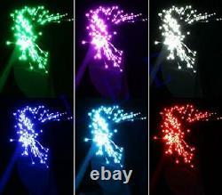 16W RGBW Twinkle LED Fiber Optic Star Ceiling Light Kit, Shooting Stars Effect M