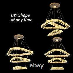 3 Ring LED Lighting Modern Chandelier