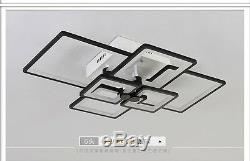 80cm Square Modern LED Crystal Pendant Lamp TOP Luxury Villa Lobby ceiling Light