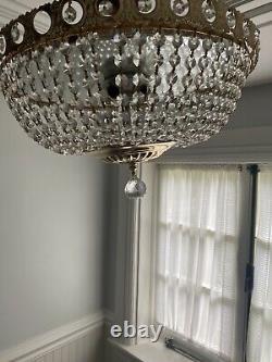 Belair Swarovski Crystal Flush mount