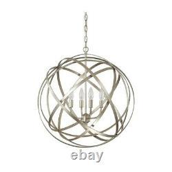 Capital Lighting Axis 4 Light Pendant, Winter Gold 4234WG