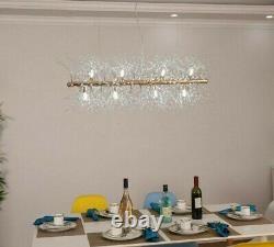 Chandelier Light Fixture Loft Dandelion LED Fixture Flush Mount Home Accessories