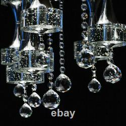 Chiaro LED 13 Light Flush Mount Ceiling Light with Clear Crystal Drops RRP £899