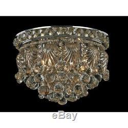 Dale Tiffany Carmen Crystal Flush Mount, Polished Chrome GH14134