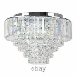 Debenhams Home Collection Sophia Crystal Glass Flush Light