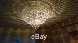Debenhams Mia Crystal Glass Flush Ceiling Light