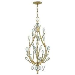 Fredrick Ramond Eve 3 Light Chandelier Foyer, Champagne Gold FR46803CPG