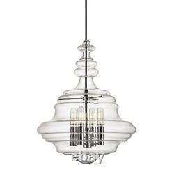 Hudson Valley Lighting 4016-PN The Washington 4 Lights 16 Pendant, Brushed Nick