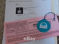 James R. Moder Swarovski Spectra Crystal FlushMount Chandelier 95261S11