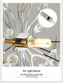 LED Chandelier Hanging Lights Home Lamps And Decor Lighting Luxuries Fixture New
