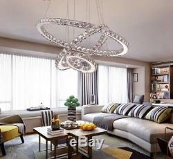 LED Crystal Chandeliers Modern Light Lamp For Living Room Lustre Ceiling Fixture