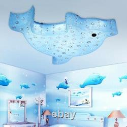 LED Remote Light Child's Room Ceiling Lamp LED Dimmable Cartoon Lighting Lamp