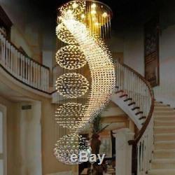 Large Modern Lighting Large Chandelier Home Decoration Crystal Hanging Lamp Pen