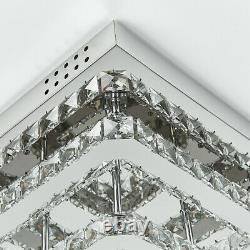Luxury Crystal Ceiling Light XXL 40-70cm LED Chandelier Lamp Flush Pendant Mount