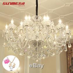Luxury LED Crystal Chandelier Lighting Modern LED Large Chandeliers For Hotel