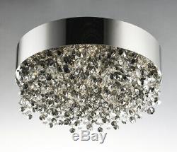 Maxim Lighting 39650MSKPC Mystic 11 Light Flush Mount Light, Polished Chrome