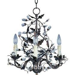 Maxim Lighting Elegante 3-Light Chandelier Oil Rubbed Bronze 2850OI