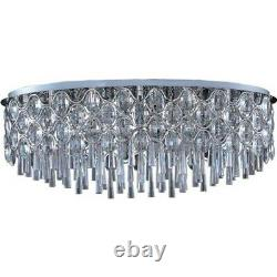 Maxim Lighting Jewel 23-Light Flush Mount Polished Chrome 39928BCPC