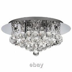 Modern Crystal Ceiling Chandelier Pendant Lighting Lamp Fixture Flush Mount