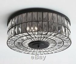Pottery Barn Adeline Crystal OVERSIZED 23.75 Flushmount Ceiling LightNew NIB