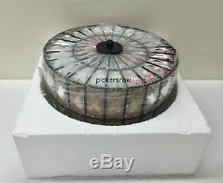 Pottery Barn Adeline Crystal Round SMALL 12.5 FlushmountAntique BronzeNew