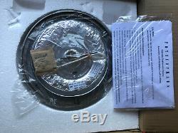 Pottery Barn Clarissa Crystal Drop Small Flush Mount 9 Diameter NEW
