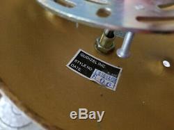 QUOIZEL LA CRYSTA Semi Flush Mount Sparkling Crystal Light Gold Finch LS1814GF