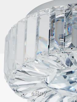 RRP £195 John Lewis Esme Glass Crystal Chandelier Ceiling Flush Light
