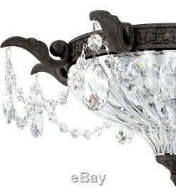 Schonbek 5633-80A Milano 2 Light 17 inch Roman Silver