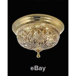 Waterford Crystal Beaumont Gold Ceiling Fixture 17