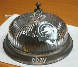 Waterford Crystal Clarion Flush Mount Ceiling Light Fixture
