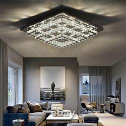 XL 70cm Modern Luxury LED Chandelier Ceiling Lamp with 96W Pendant Bedroom Light