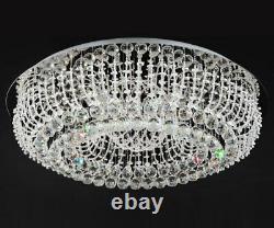 XL led luxury crystal ceiling lamp chandelier Ø66cm Adelina sub light + 8xG9 +RC